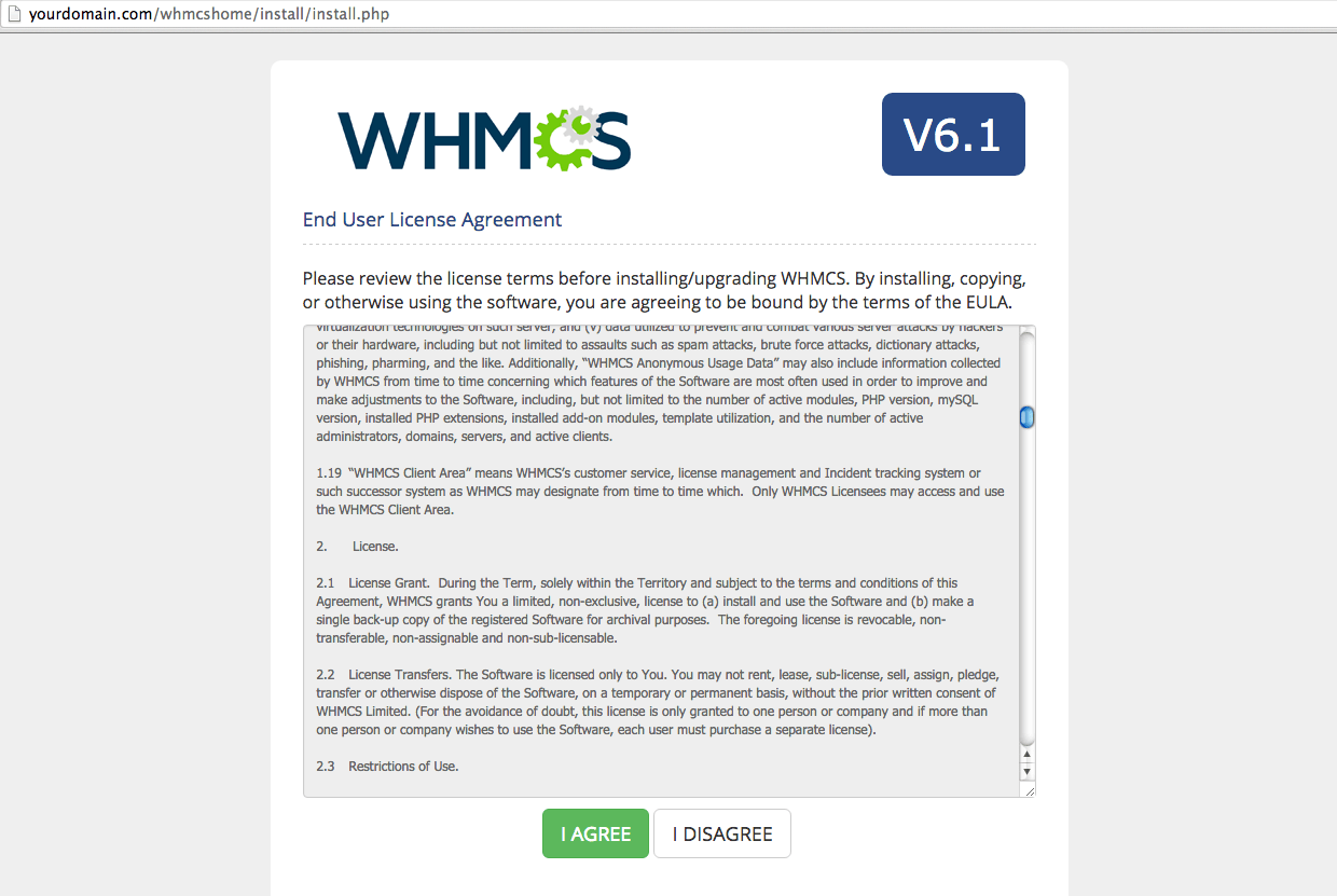How to Install WHMCS 6 1 on a VPS or Dedicated Server running CentOS